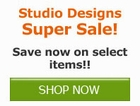 Save now on select Studio Design by