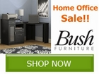 Huge Savings on select Bush Home Furniture by
