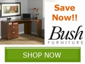 Save on Home Office Furniture from Bush Home Furniture!!