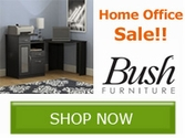 Home Office Furniture Sale!! Save with Bush Home Furniture!!