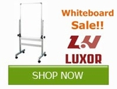 Save on Whiteboads from Luxor!!