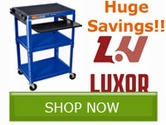 Save BIG on select products from Luxor!!
