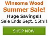 Winsome Wood Sale!! Save Now!!