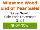 Save on Winsome Wood!!