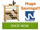 Save BIG on select Winsome Wood Entertainment by