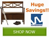 Winsome Wood Cyber Sale!! Save NOW!!
