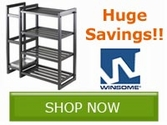 Huge Savings on Select Winsome Wood Products!!