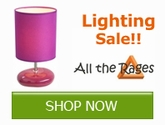 Save on your Lighting needs from All The Rages!!