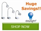 Save on your lighting needs with products from Daylight by