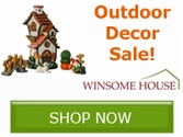 Save on your outdoor decor with Winsome House!