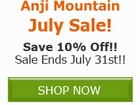Save 10% off on ALL Anji Mountain Rugs, Chair Mats, and by