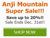 Save 10% off ALL Anji Mountain Products!! Save Now!!