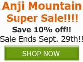 Save 10% off ALL Anji Mountain Area Rugs, Chair Mats, and More!!!