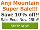Save 10% off ALL Anji Mountain Rugs, Chair Mats, and by