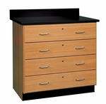 Science Lab Drawer Base Cabinet [121-3622-DW]