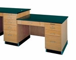 Science Table Side Desk [1146K-DW]
