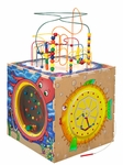 45''H Sea Life Play Cube with 5 Stimulating Panels [SPC6004-FS-ANA]