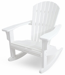 POLYWOOD® Seashell Rocker - White [SHR22WH-FS-PD]