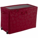 Seasons Holiday All Purpose Rolling Storage Bin with Wheels