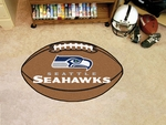 Seattle Seahawks Football Mat 22'' x 35'' [5944-FS-FAN]