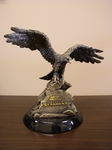 Seattle Seahawks Tim Wolfe Sculpture [TWSN-NFL127-FS-TT]