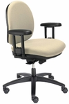 Seatwise Mid-Back Task Chair with Contoured Seat and Back [SW9820-FS-VALO]