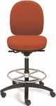 Seatwise Tall Height Drafting Stool with Contoured Seat and Back [SW9820T-FS-VALO]