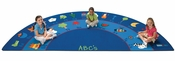 Semi-Circle Fun With Phonics Reading Rug