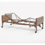 Semi-Electric Homecare Bed with Reinforced Steel - 36''W X 88''D X 15''H [5310IVC-FS-CARE]