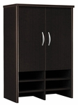 Series C 30'' W Storage Hutch - Mocha Cherry [WC12997-FS-BBF]