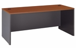 Series C 72'' W x 30'' D Desk Shell - Auburn Maple and Graphite Gray [WC48536-FS-BBF]