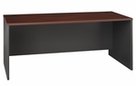 Series C 72'' W x 30'' D Desk Shell - Hansen Cherry and Graphite Gray [WC24436-FS-BBF]