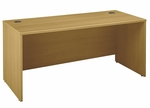 Series C 66'' W x 30'' D Desk Shell - Light Oak [WC60342A-FS-BBF]