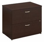 Series C 36'' W x 24'' D Lateral File - Mocha Cherry [WC12954C-FS-BBF]