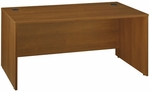 Series C 66'' W x 30'' D Desk Shell - Warm Oak [WC67542A-FS-BBF]