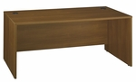 Series C 72'' W x 30'' D Desk Shell - Warm Oak [WC67536-FS-BBF]
