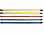 Set of 5 (1,  2,  3,  4,  5 lb) Exercise Weight Bars - 36''L [HAU-5541-FS-HAUS]
