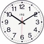 Shatter-Resistant Wall Clock [CLOCK12-VCO]