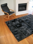 Shearling Orbit Design Rug [ORBIT-MROSW-FS-BRON]