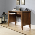 Shoal Creek 47''W x 30''H Wooden Computer Desk with Flip-Down Molding - Oiled Oak [410416-FS-SRTA]