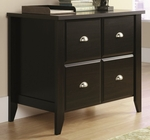 Shoal Creek 35''W x 30''H Wooden 2 Drawer Lateral File Cabinet - Jamocha [408924-FS-SRTA]