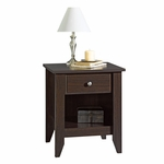 Shoal Creek 21''W x 24''H Wooden Night Stand with Open Storage - Jamocha [409942-FS-SRTA]