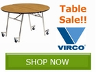 Shop Virco's Mobile Table Sale!! Save by