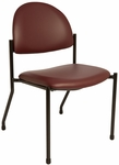 Side Reception Chair [1250-FS-BRW]