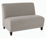 Siena Series Armless Loveseat [Q1502G3-FS-RO]