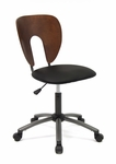 Ponderosa Height Adjustable Office Chair with 5 Star Metal Base and Casters [13249-FS-SDI]