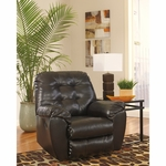 Signature Design by Ashley Alliston Rocker Recliner in Chocolate DuraBlend [FSD-2399REC-CHO-GG]