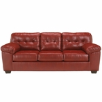 Signature Design by Ashley Alliston Sofa in Salsa DuraBlend [FSD-2399SOF-RED-GG]