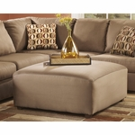 Signature Design by Ashley Cowan Oversized Ottoman in Mocha Fabric [FSD-8059OTT-MOC-GG]