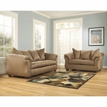 Signature Design by Ashley Darcy Living Room Set in Mocha Fabric [FSD-1109SET-MOC-GG]